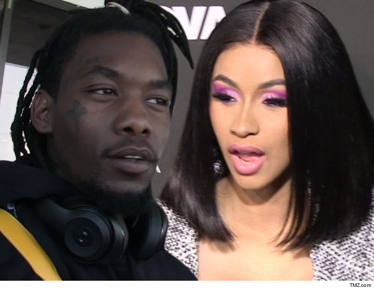 Watch Cardi B Reaction After Husband Offset Apologized to Her And Is Tricking Though (Video)
