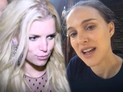 Jessica Simpson Calls Out Natalie Portman for Comments on Simpson's Virgin Bikini Pic