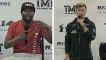 Floyd Mayweather Doesn't Care If Tenshin Nasukawa Knocks Him Out
