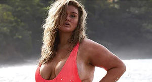 It's Hunter McGrady's 3rd Year With SI Swimsuit, But Her 1st Wearing an Actual Swimsuit!