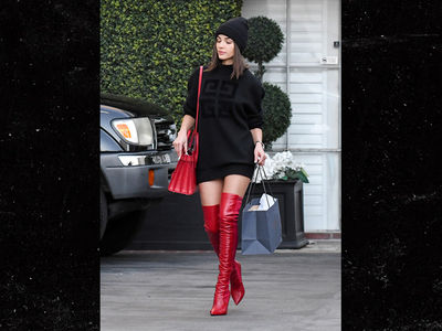 Olivia Culpo's Holiday Shopping Outfit Will Get You in the Mood