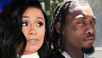 Cardi B Says Offset Split is No Publicity Stunt