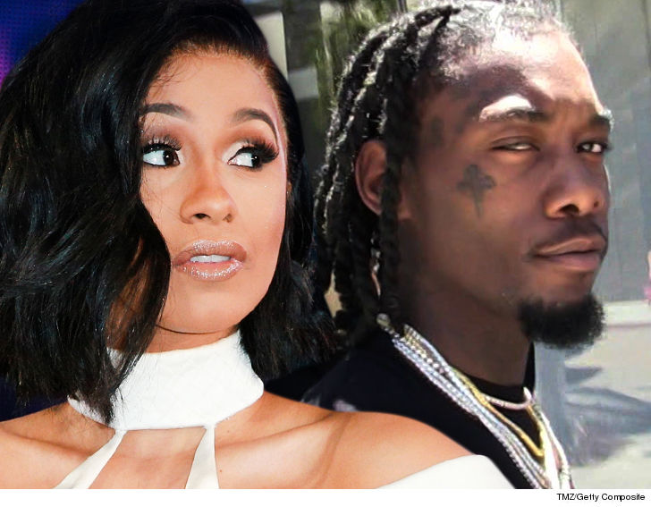 Cardi B Now Rapping About Divorce Says Offset Split Is No Publicity