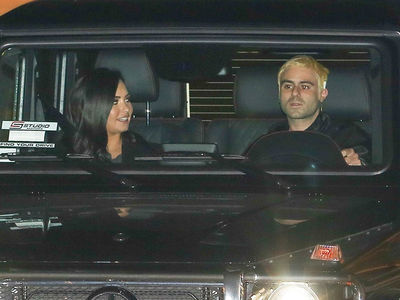 Demi Lovato on Malibu Dinner Date with New BF Henry Levy