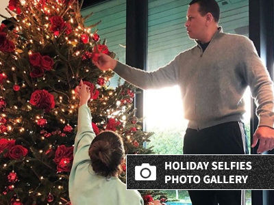 See J.Lo & A-Rod Get In the Holiday Spirit with All Their Kids!