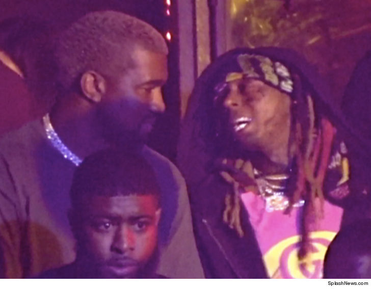Lil Wayne & Kanye West On Another Level For Miami Nightclub Gig