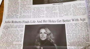 Julia Roberts' 'Holes Get Better' Headline Goes Viral
