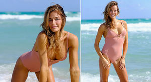 Ex-'Real Housewife' Kelly Bensimon Looking Hot in a Swimsuit