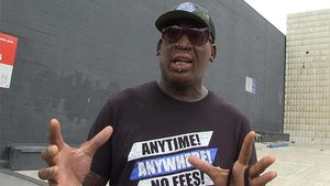 Dennis Rodman Fell Off the Wagon, Fighting to Stay Sober