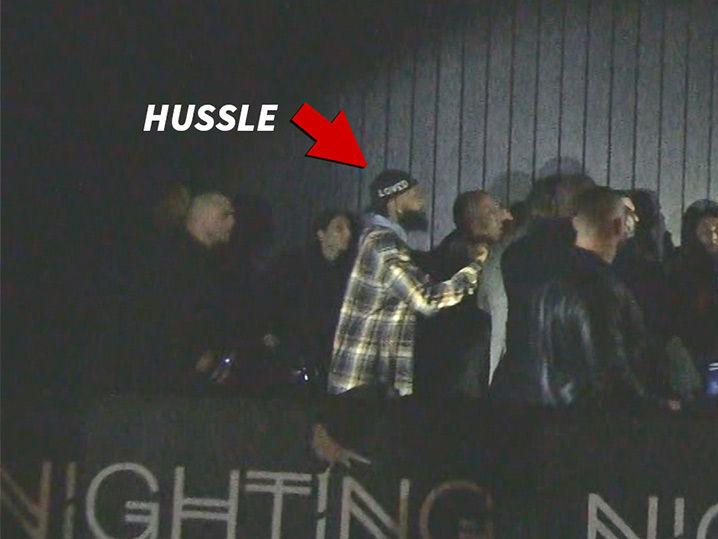 Nipsey Hussle Involved in Massive Brawl Where Security Pulled Taser Gun
