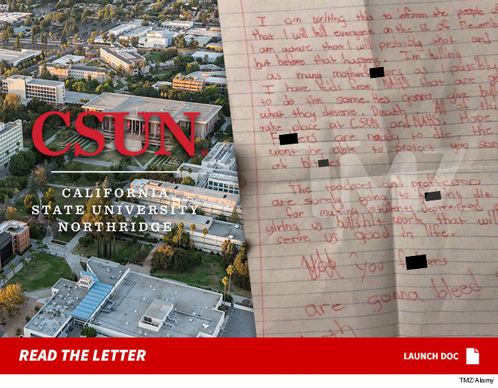 2nd Mshooting Threat At Cal State Northridge Names Dec 12