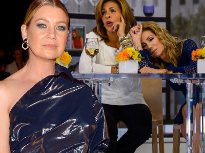 Ellen Pompeo Suggests Kathie Lee Gifford and Hoda Kotb 'Lay Off the Booze and Pay Attention'