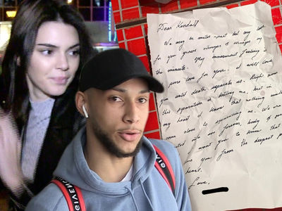 Kendall Jenner Posts Sappy Love Letter ... From Ben Simmons?!
