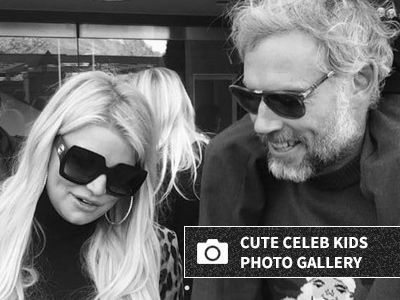 Pregnant Jessica Simpson Shares New Photos of Her Two Kids -- They're SO Big Now!