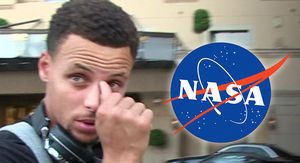 NASA Invites Steph Curry to View Moon Landing Evidence