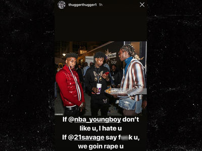 Young Thug Makes Tasteless Rape Joke, Approved by 21 Savage and NBA YoungBoy