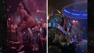 MLS Champs Bring Trophy to Famous Atlanta Booty Club
