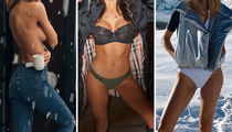 Babes Stripped Down In The Snow -- Guess Who!