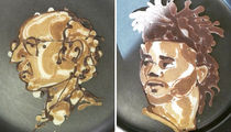 Celebrate Maple Syrup Day With These Famous Face in Pancakes!