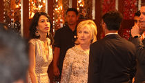 Hillary Clinton Still Partying at Billionaire Daughter's Indian Wedding