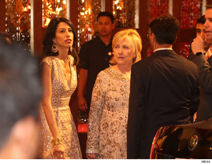 Hillary Clinton Still Partying At Billionaire Daughters Indian
