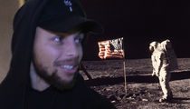 Steph Curry Says He Was Just Kidding About Moon Landing Theory