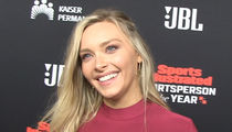 Camille Kostek Defends Rob Gronkowski's Missed Tackle, Give Him Another Chance!!