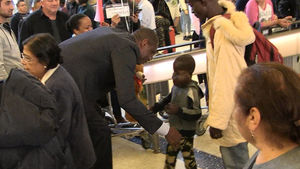Dikembe Mutombo Flies 8-Yr-Old Boy w/ Large Tumor to U.S. for Surgery
