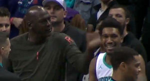 Michael Jordan Slaps Malik Monk Upside the Head After Bonehead Technical Foul