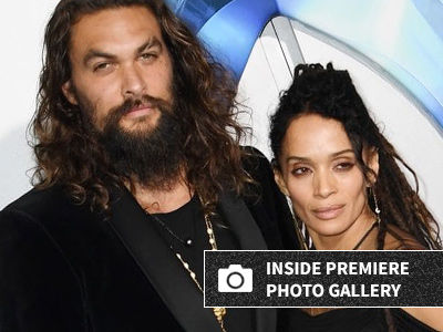 EVERY Must-See Photo of Jason Momoa & Lisa Bonet's ADORABLE Kids at the 'Aquaman' Premiere