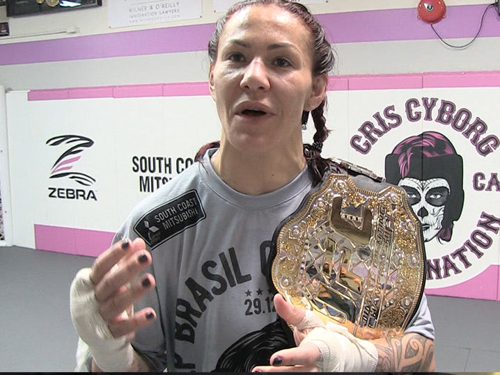 Cris Cyborg Halle Berry Will Be My VIP Guest ... At Amanda Nunes Fight