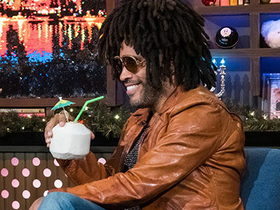 See What Lenny Kravitz SPILLED About Dating Nicole Kidman, Those Madonna Rumors & More on 'WWHL'