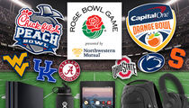 College Football Bowl Games, Players Gettin' Crazy Swag