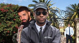 Drake Beefing Up Home Security Due to Feud with Kanye, Who Lives Nearby