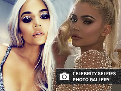 Khloe's Stomach Looks INSANE, Kylie Rocks See-Through Dress -- Is THIS for Christmas Card?!