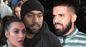 Kanye West, Kim Kardashian Warn Drake, Don't Threaten Us!