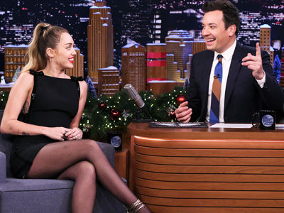 Miley Spills on Her 'Stoner' Parents & 'Sexy' Liam Before Struggling to Name Her Own Song