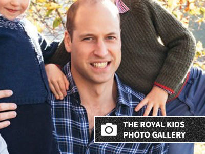 The Royal Family Christmas Card Is Here and Oh So Adorable -- Wait'll You See Prince Louis!