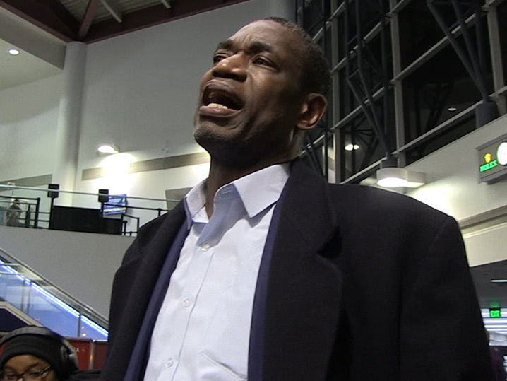 Dikembe Mutombo Says Pray for Boy with Tumor, Surgery Imminent