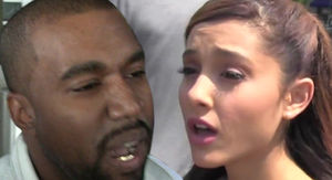 Kanye West Goes After Ariana Grande Over Mental Illness in Drake War