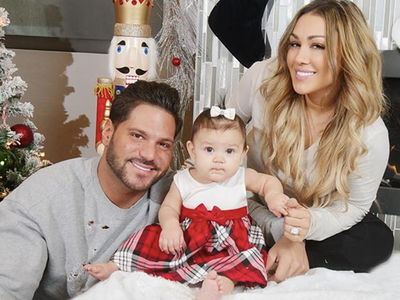 Ronnie Ortiz-Magro and Jen Harley Share Happy Family Christmas Photos