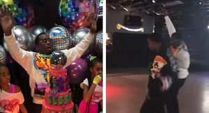 Diddy Celebrates Birthdays of His Twins and Kim Porter