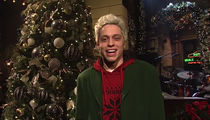Pete Davidson Introduces Miley Cyrus on 'SNL' But That's It