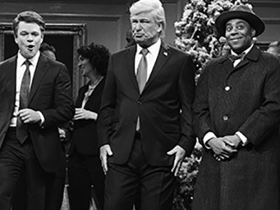 'SNL' Christmas Episode Imagines 'A Wonderful Life' without President Trump