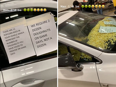 Tristan Thompson Destroys Rookie's Car with Popcorn Over Bad Donut Run!