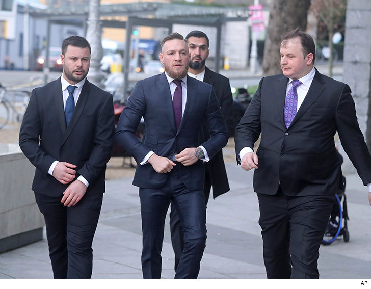 Another day in court for Conor McGregor ...