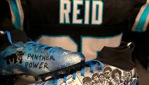 Eric Reid's 'Monday Night Football' Cleats Feature Kneeling Colin Kaepernick