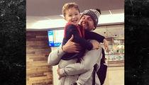 AJ McCarron Has Adorable Airport Reunion With Son, 'DADDY!!!!'