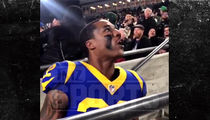Rams Marcus Peters Confronts Heckler During Game, 'Talk That Sh*t Now, N***a'