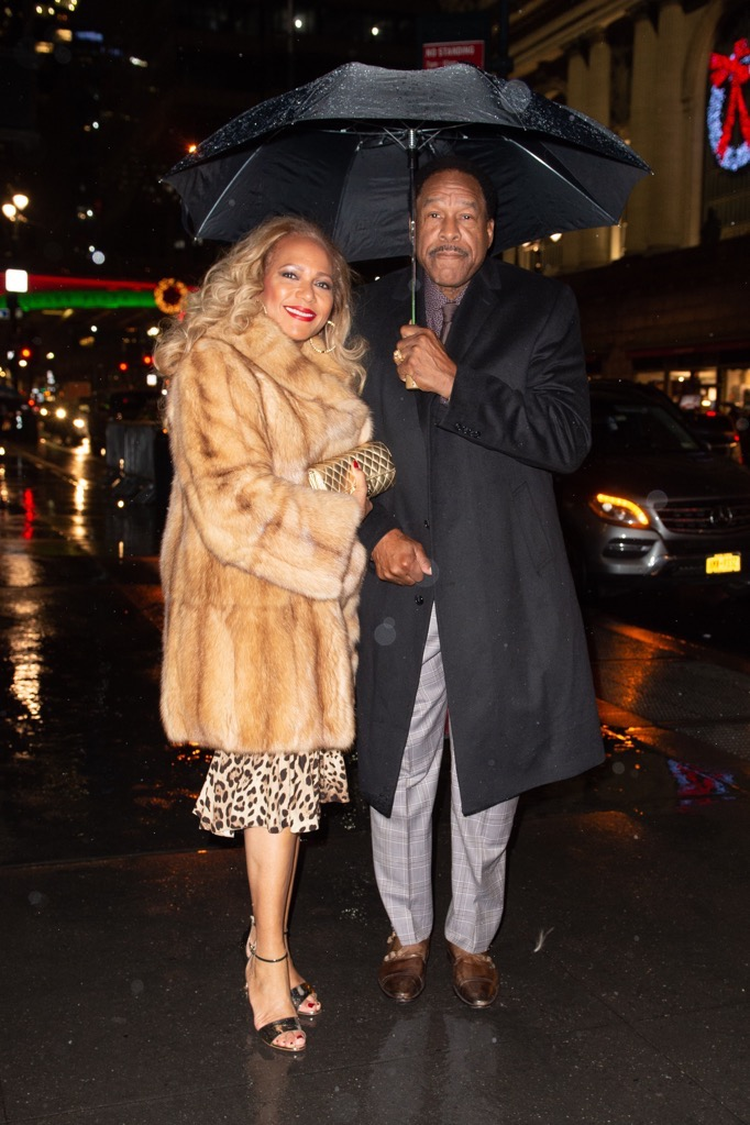 Dave Winfield with wife Tonya Turner